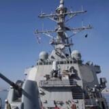 USA har valgt at genetablere »Anden Flåde« i den nordlige del af Atlanterhavet. Arkivfoto: EPA/SEAMAN ALYSSA WEEKS/US NAVY HANDOUT