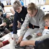 Cards Against Humanity er blevet enormt populært over hele verden siden det grovkornede kortspils udgivelse i 2011. Her morer danske unge sig med at skabe fornærmende sætninger.