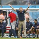 Jürgen Klinsmann skal på jobjagt efter at være blevet fyret som USA's landstræner. Scanpix/Jed Leicester