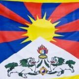 Dette flag måtte en besøgende kinesisk præsident ikke se i København i 2012, stod der i en intern ordre. Indgrebet i folks ret til at demonstrere og ytre sig undersøges af Tibetkommissionen (arkivfoto). Www.colourbox.com