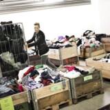 Akrivfoto: Trine Bjørn var arbejdsløs, men nu hjælper hun Røde Kors med frivilligt arbejde.