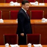 Præsident Xi Jinping kan nu sidde på posten resten af sit liv efter søndagens forfatningsændring i Kina.
