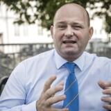 Justitsminister, Søren Pape Poulsen (Konservative Folkeparti).