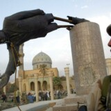 Skovgaard Museet i Viborg vil ikke vise Muhammed-tegningerne under den forestående udstilling om blasfemi. Men museet vil ikke undgå at vise motiver fra islam, siger museumsleder Anne-Mette Villumsen, som fortæller, at museet bl.a. vil vise et filmklip af, at statuen af Saddam Hussein bliver væltet i Irak.