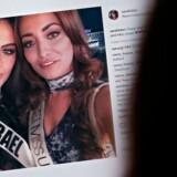 Dødstrusler har fyldt indbakken hos den irakiske skønhedsdronning Sarah Idan, efter hun har delt et billede af sig selv sammen med Israels skønhedsdronning. Arkivfoto.