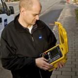 I alt 3.000 centraler og gadeskabe skal have installeret ekstra udstyr, som kan pumpe hastigheden på internetforbindelsen over fastnettet i vejret. Foto: Jørgen True, TDC