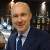 Pressefoto fra Carlsberg af den afgående direktør Michiel Herkemij.