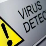 Danmark er tilsyneladende sluppet nådigt oven på weekendens nu to virusangreb. Arkivfoto: Shutterstock/Scanpix