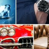 Det er ifølge en lang række eksperter de helt store klassikere inden for både ure, biler, vin og møbler, der bare fortsætter med at stige i værdi. Men det er ikke alt, der glimter, som er guld, når man ser over de seneste ti år.