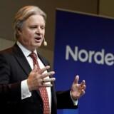 Casper von Koskull, topchef for Nordea, ønsker mere EU-integration, og det er et ønske, som kan få betydning for, hvor storbanken placerer sit hovedkvarter.