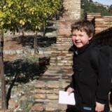 Borgruinen Alcazaba er pragtfuld for børn og voksne.