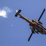 Arkivfoto. En iransk general er blevet dræbt under et israelsk helikopterangreb i Syrien.