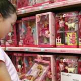 Salget var hjulpet på vej af salget af Barbie-dukker, der er Mattels største brand.