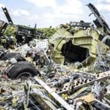 Et billede fra MH17-vragrester taget onsdag den 23. juli.