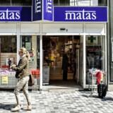 ARKIVFOTO 2013 af Matas-butik- - Se RB 1/11 2013 12.27. Matas vokser. Selskabet har overtaget seks butikker, som de skal betale 77 millioner kroner for.(Foto: Jeppe Bjørn Vejlø/Scanpix 2013)