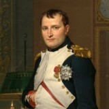 Napoleon Bonaparte malet af Jacques-Louis David.