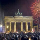 Er man i den tyske hovedstad nytårsaften, er Brandenburger Tor næsten et »must«.