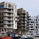 Huspriserne stiger markant mere i København end i resten af landet. Økonomer frygter, at det kan skabe en overophedning af markedet. Foto: Bax Lindehart, Scanpix