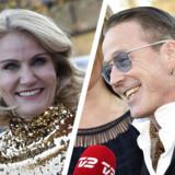 Her ses statsminister Helle Thorning-Schmidt (S) og sangeren Thomas Helmig