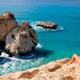 Aphrodite's Rock i Paphos.