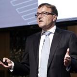 Danske Bank offentliggør årsregnskab- Pressemøde Eivind Kolding, Danske Bank fremlægger regnskabet for andet halvår 2013