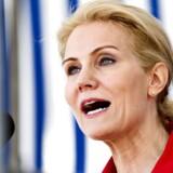 Statsminister Helle Thorning-Schmidt (S) nævnes igen som mulig kandidat til EU-toppost. Her ses hun til grundlovsdag.