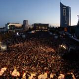 Med 2.300.000 overnatninger i 2008 rangerer Tyskland øverst på danskernes foretrukne rejsemål. Se hele listen på side 2. Billedet: Den tidligere østtyske by, Leipzig, fejrer her 20 års dagen for en historisk demonstration mod det kommunistisk sikkerhedspoliti 9. oktober 2009.