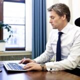 Den norske Thomas F. Borgen har været ansat i Danske Bank i mange år - nu rykker han ind på chefkontoret.