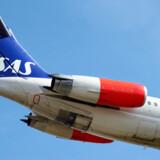Kun knap en halv procent af SAS's kunder klager efter en rejse med selskabet.