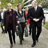 Statsminister Helle Thorning-Schmidt (S) og Økonomi- og indenrigsminister Margrethe Vestager (R) besøgte DTU i Lyngby i tidligere i denne uge og blev modtaget af rektor Anders Bjarklev