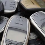 Nokia-telefoner fra dengang, hvor finnerne stadig var med i toppen af mobilverden.