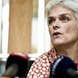 """AErhvervs- og Vækstministerier Annette Vilhelmsen forventer at finde """"en god løsning"""" sammen med bankerne."""