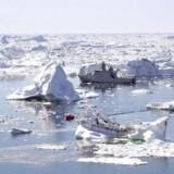 Tre internationale konsortier har fået eneret til at efterforsker og bore efter olie og gas i fire felter i Grønlandshavet ved Nordøstgrønland.