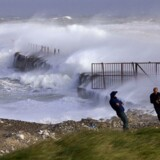 En ny kraftig storm rammer landet på fredag. (Arkivfoto)