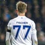 Viktor Fischer, som scorede i det første opgør mod Atlético Madrid, håber fortsat på medaljer i Superligaen. Scanpix/Anders Kjærbye/scanpix