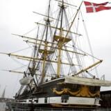 Fregatten Jylland i Ebeltoft