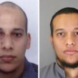 Fransk politi har udsendt disse billeder af Cherif Kouachi og Said Kouachi, som mistænkes for at stå bag angrebet på Charlie Hebdo.