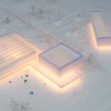 Fire arkitektfirmaer har kæmpet om at tegne de nye bygninger, men danske Dorte Mandrup Arkitekter vandt kontrakten og skal designe den nye satsning på 25.000 m2.