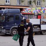 Københavns Politi har mandag morgen endnu engang ryddet Pusher Street for hashboder, oplyser vicepolitiinspektør Lars Ole-Karlsen. Mathias Øgendal/Ritzau Scanpix