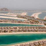Palm Jumeirah er et af de mest berømte og luksuriøse prestigeprojekter i Dubai. Nu tynges projektet af en milliardgæld.