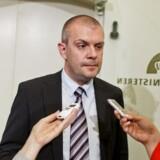 Finansminister Bjarne Corydons skatteaftale fredag aften overrasker alle - og får både ros og ris. Foto: Uffe Weng, Scanpix
