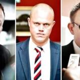 Af Venstre-folk har Troels Lund Poulsen (th), Peter Christensen (m) og Lars Løkke Rasmussen (tv) vidnet for Skattesagskommissionen. Nu sår et anonymt brev til kommissionen tvivl om deres forklaringer.