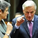 Den danske økonomiminister Margrethe Vestager, EU-kommissær Michel Barnier og de øvrige politikere på Ecofin-møderne skal fastlægge rammerne for den kommende bankunion.