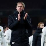 Östersunds-træner Graham Potter er stolt af sit hold efter en højst overraskende 2-1-sejr på udebane mod Arsenal. Reuters/Eddie Keogh