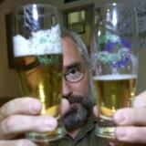 Det nye øl testes på mikrobryggeriet Apollo i København. Arkivfoto: Mogens Flindt