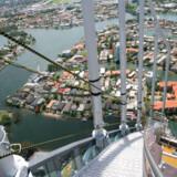 Guldkystens nye attraktion hedder SkyPoint Climb, den ligger på toppen af skyskraberen Q1 og man skal bare ikke lide af højdeskræk, hvis man beslutter sig for turen til himlen og den sikkert betagende udsigt til hav og Australien. Foto: PR