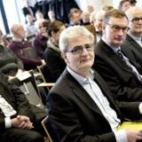 Administrerende direktør for Frøs Herreds Sparekasse, Kurt Jensen, havde på mandagens konference blandt andet inviteret skatteminister Holger K. Nielsen til at fremlægge hovedkonklusionerne i Skatteministeriets seneste rapport, som ikke alle deltagere var helt enige i.