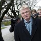 Peter Loft, tidligere departementschef i Skatteministeriet ankommer til afhøring i Skattesagskommissionen tidligere i dag.