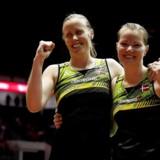 Kamilla Rytter Juhl og Christinna Pedersen.