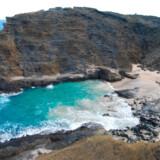 """Petit Tabac, hvor flere af scenerne i fjerde omgang af """"Pirates of the Caribbean"""" er optaget, ligger i Tobago Cays Marine Park i øgruppen St. Vincent and the Grenadines."""